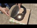 Огромная самодельная линза из эпоксидной смолы. Homemade epoxy magnifier
