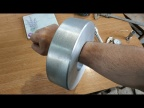 Мега кольцо отлитое из алюминия. Токарная обработка и фрезеровка.