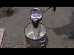 Отливка из алюминия блина большого диаметра