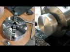 Новый патрон, проверка алюминиевой болванки на поры и стоит ли смазывать токарный патрон.