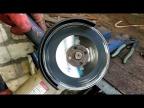 Тест алмазного диска по металлу. Metal Cutting Super Abrasive Diamond Blade