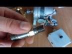 Учусь нарезать резьбу и как подключить двигатель к регулятору оборотов