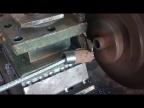 Самодельный токарный по металлу. Вторая стружка