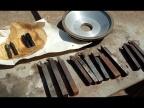 Дешёвые инструменты с барахолки. Алмазная чашка, токарные резцы и мечики
