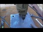 Процесс изготовления стойки для дрели