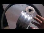 Шкив из алюминиевой заготовки