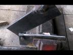 Ножницы по металлу из рессоры, стационарные своими руками