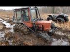 Турбо-Трактор против вездехода Секач. Разведка тяжелого маршрута!