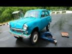 Проехать 500км на редком Москвиче-410Н 1958 года и не сломаться...