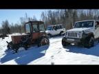 Турбо-Трактор vs Внедорожники. Что лучше на бездорожье?