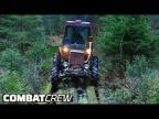 Турбо-трактор: Испытания новой оптики в дремучем лесу! Часть 6