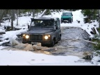 Нива вне закона против Land Rover Defender. Зимний тест-драйв.