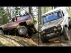 G-class против Toyota LC70. Что лучше на бездорожье?