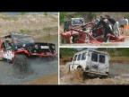 OffRoad с AcademeG. Топим G-class, Hummer и УАЗ