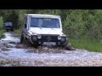 Газ 66 и Mercedes G class на бездорожье