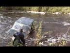 Нива штурмует реку