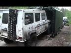 Погрузка гелика в прицеп Ладога 2012
