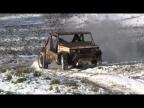 Багги из ВАЗ 2104 первый снег