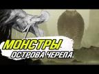 Вырезанные монстры Острова Черепа - Конг против Годзиллы.