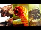 Все МЕРЗКИЕ монстры из Кинг Конга (2005)