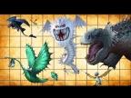 10 Самых БОЛЬШИХ и Тяжелых драконов из Как приручить дракона.