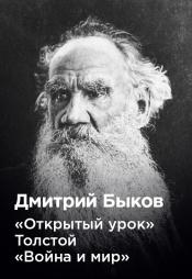 Постер к фильму Дмитрий Быков «Открытый урок» Толстой «Война и мир» 2020