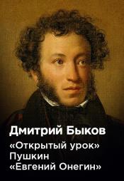 Постер к фильму Дмитрий Быков «Открытый урок» Пушкин «Евгений Онегин» 2020