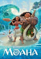 Постер к фильму Моана 2016