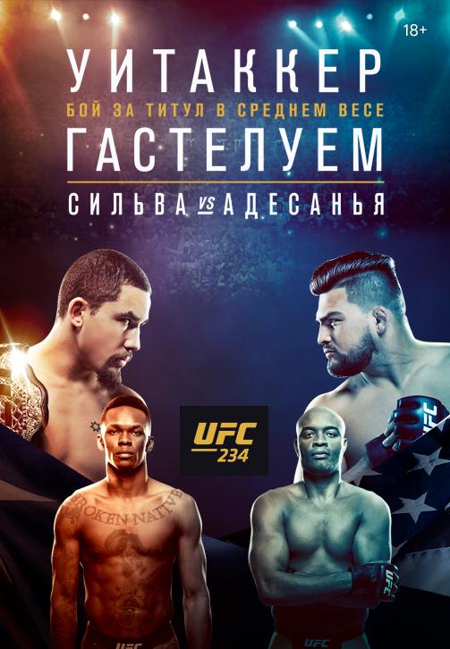Постер к сериалу UFC 234 2019