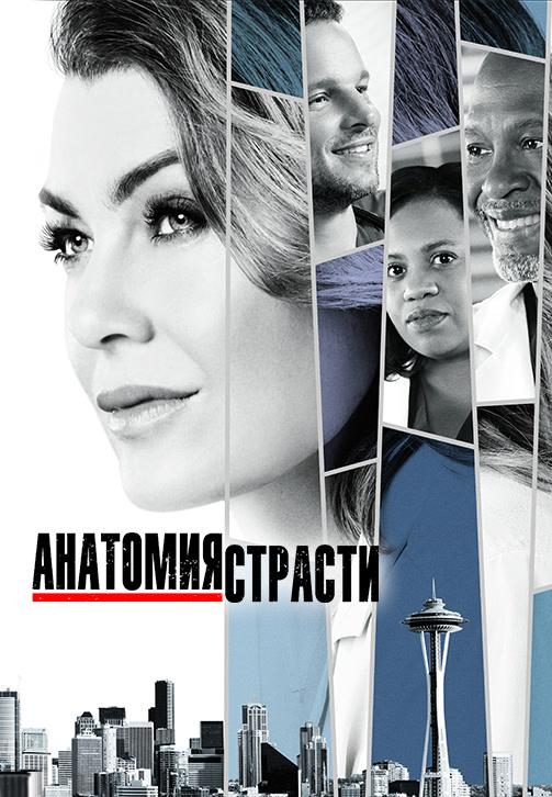 Постер к сериалу Анатомия страсти. Сезон 14 2017