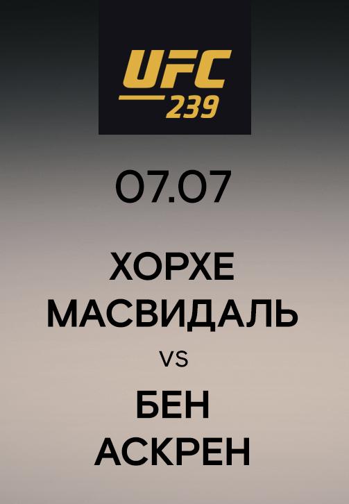 Постер к эпизоду Хорхе Масвидаль vs Бен Аскрен 2019