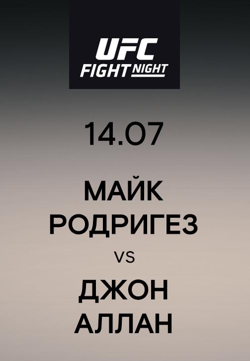 Постер к эпизоду Майк Родригез vs Джон Аллан 2019