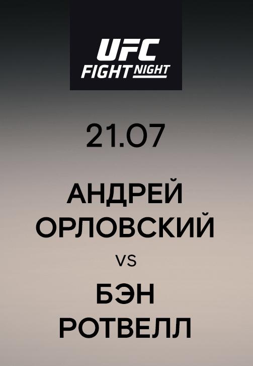 Постер к сериалу Андрей Орловский vs Бэн Ротвелл 2019