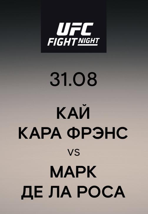 Постер к сериалу Кай Кара Фрэнс vs Марк Де Ла Роса 2019