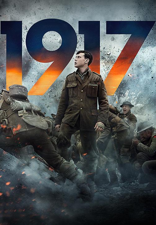 Постер к фильму 1917 2019