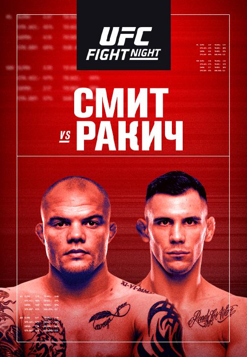 Постер к сериалу UFC Fight Night Las Vegas 8 2020