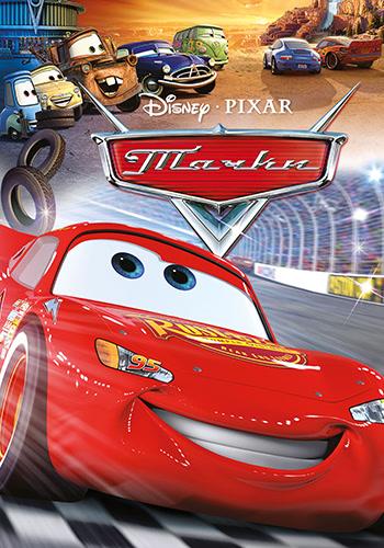Постер к мультфильму Тачки 2006